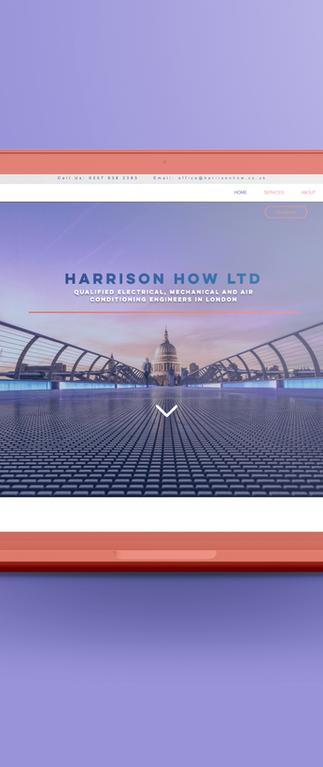 Harrison How LTD - Web Design - B2B / B2C
