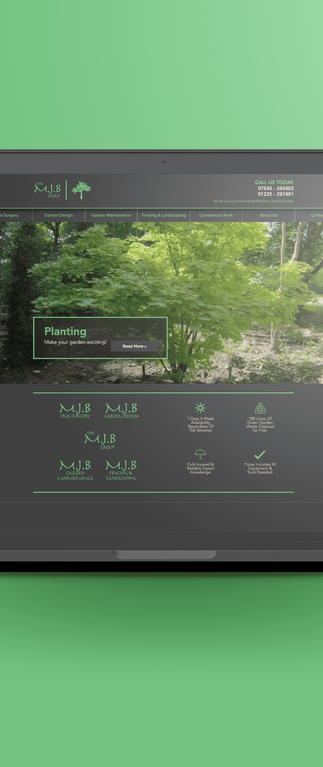 M.J.B Group - Website Design - B2B / B2C