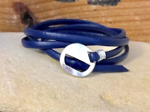 Vegan Leather Multi-wrap Bracelet