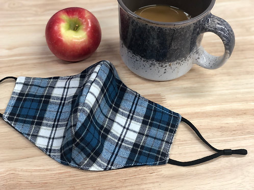 Adult Reversible Face Mask 5-Pack in Flannel