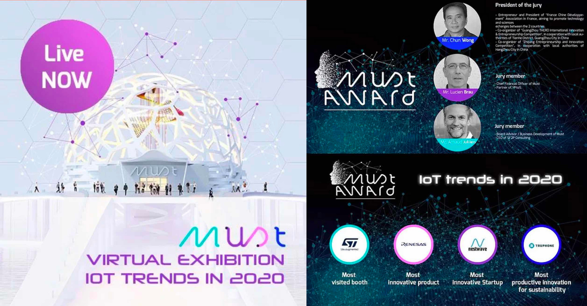Must Virtual Exhibitions - Must Awards