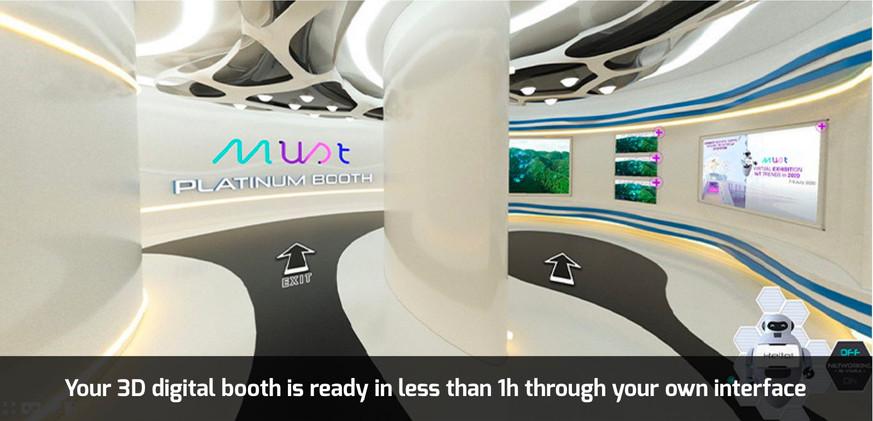 Must VE 3D/VR Digital booth