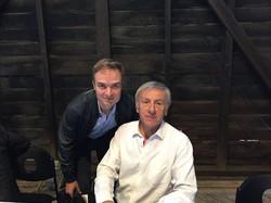 Avec J.-C. Rufin, mai 2016