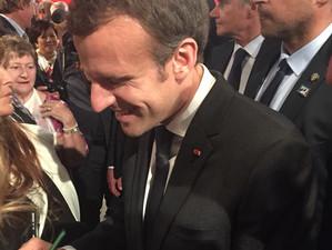 Macron à Sydney, au bout de l'attente