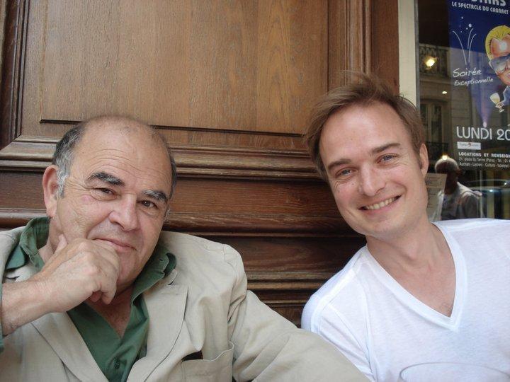 Avec Jean Benguigui, 2011