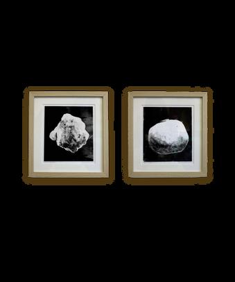 Untitled, (Artefacts), 40 x 40 cm, monotype