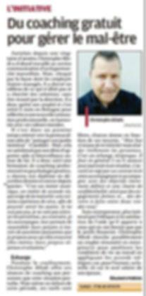 article La Procence avril 2020 .jpg