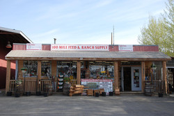 Front Of Feed Store