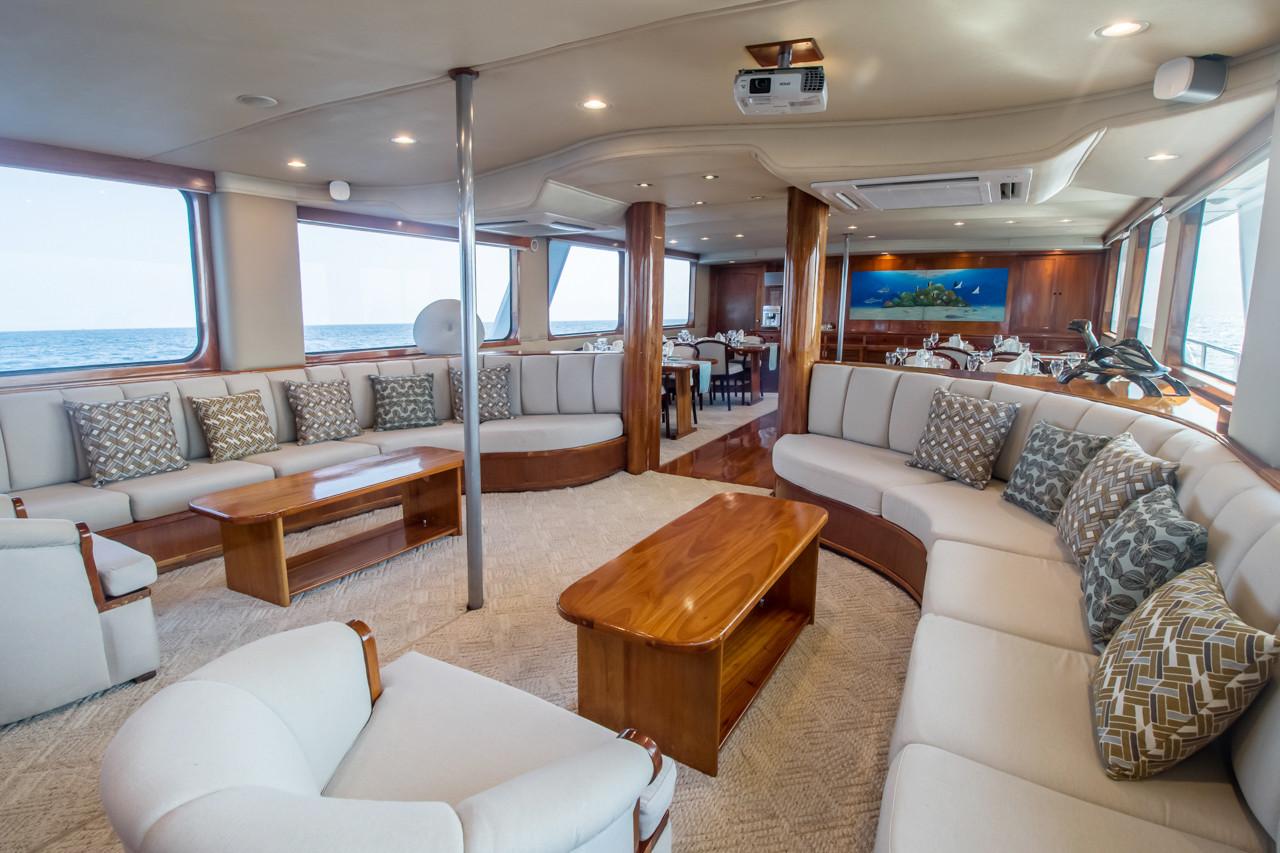 Integrity Luxury Yacht Interior