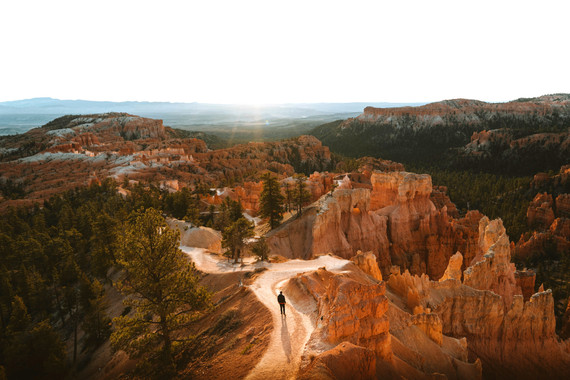 Bryce Canyon National Park walking hiking tour