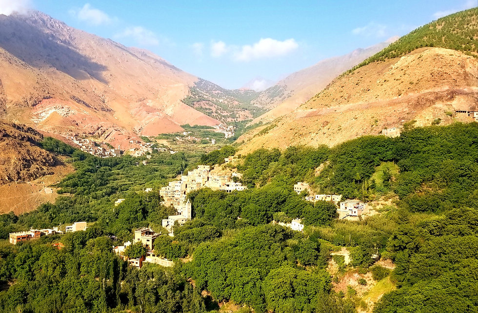 Imlil Morocco walking hiking tour