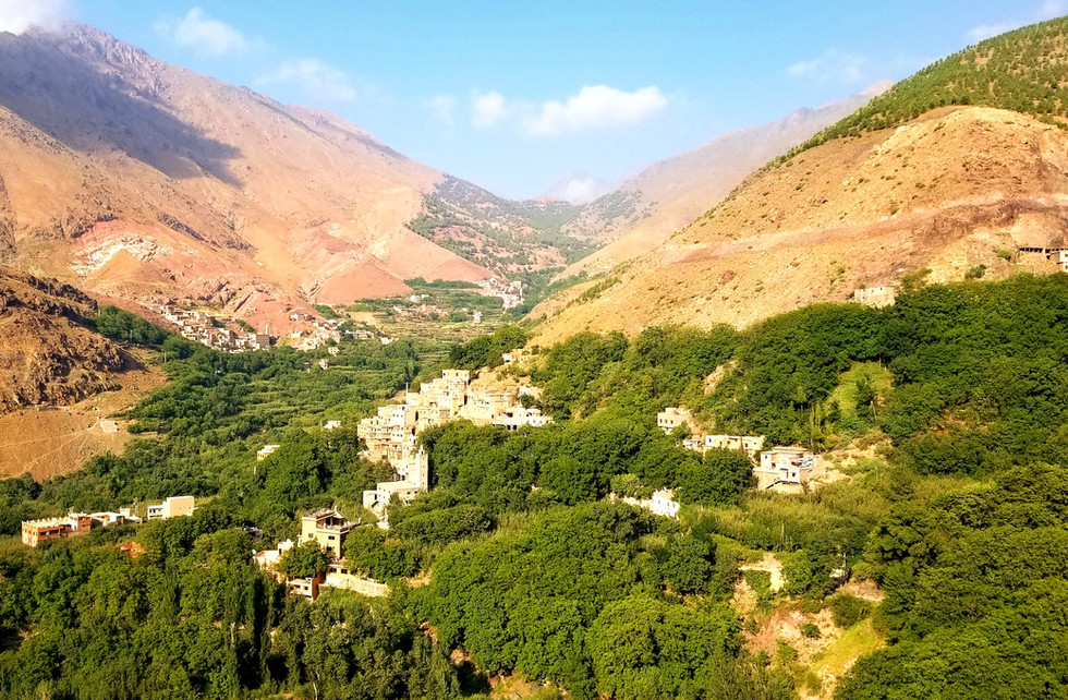 Imlil Morocco walking hiking tour