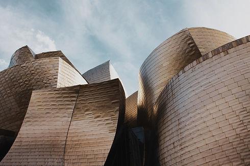 Spain Basque Country Rioja Region Guggenheim Museum