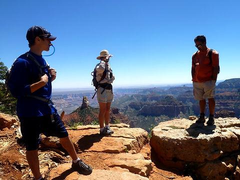Grand Canyon National Park walking hiking tour