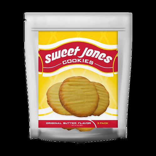 10 (3 Pack of Original Butter Flavor Cookies)