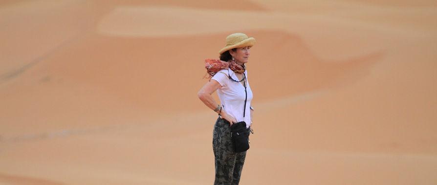 Sahara Desert Morocco walking hiking tour