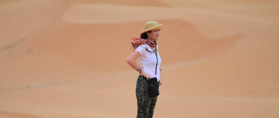 Sahara Desert Morocco walking hiking tour