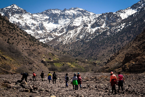 atlas mountains morocco walking hiking tour