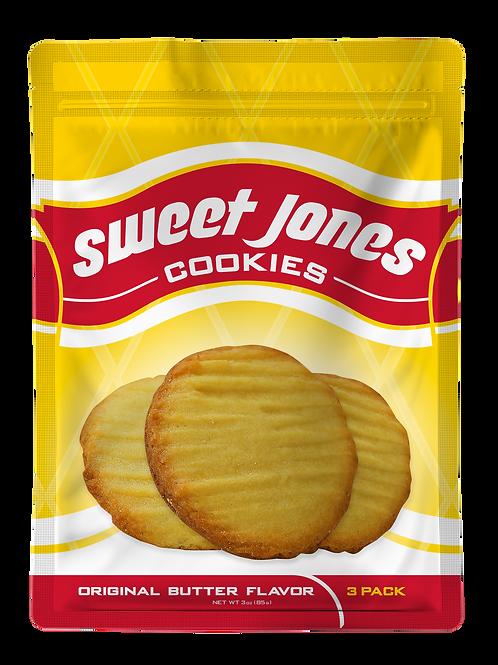Case of 144 (3) pack of cookies.
