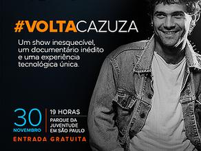 Cazuza Holographic Show: la star brasiliana rivive in un live 3D