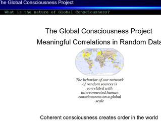 """""""La Grande Connessione e la Coscienza Globale"""