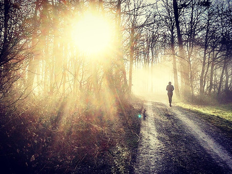Achtsames Laufen – mindful running