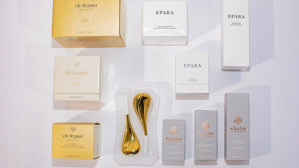 The Golden Caviar Signature Beauty Suite