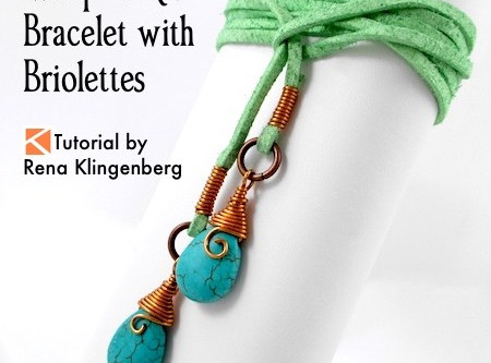 Wrap anklet tutorial found and made