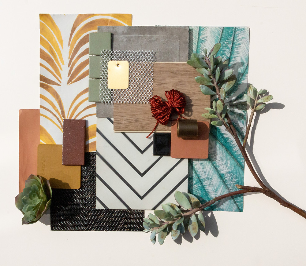 Interior finishes palette for The Link PHX