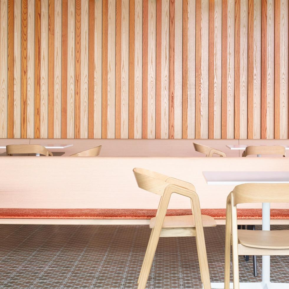 Confidential Singapore Financial Firm Office Design Cafe | Kuchar