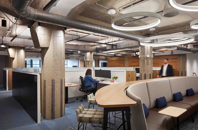 Open Office and Collaboration Space