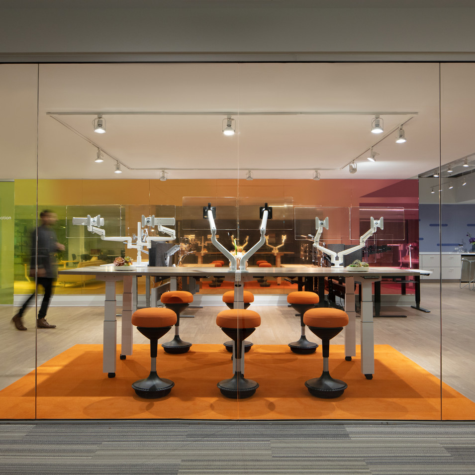 ESI Ergonomic Products Showroom | Kuchar