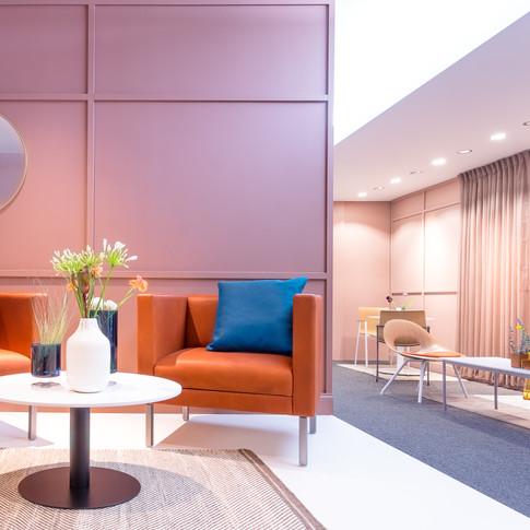 Furniture Display for Source International Seating | Kuchar