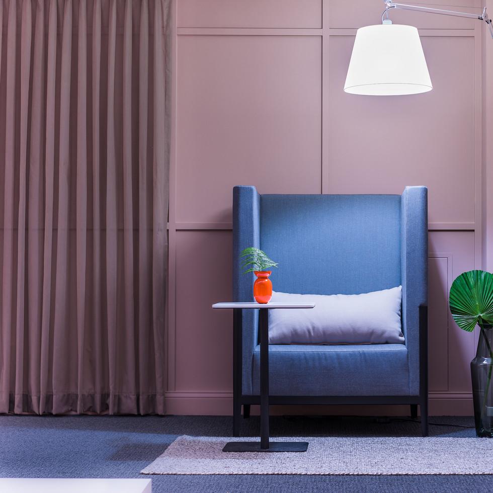 Lounge Furniture Vignette for Source International Seating | Kuchar