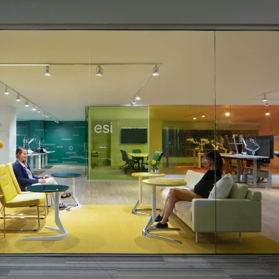 ESI Ergonomic Products Showroom | Kuchar