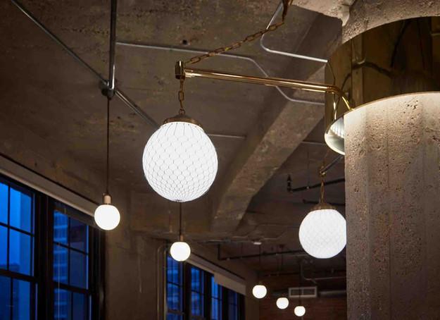 Custom Column Light Fixtures