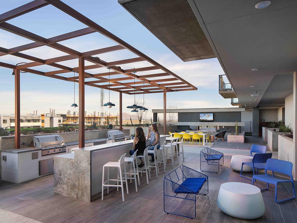Terrace Grill area