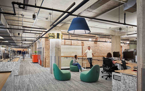 Workspace and Collaboration Area