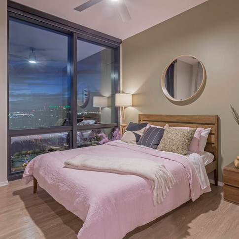 Luxury Model Unit Bedroom Styling | Kuchar