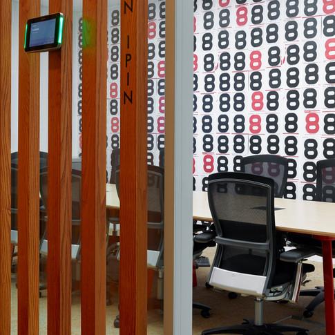 Confidential Singapore Financial Firm Office Lounge Design | Kuchar