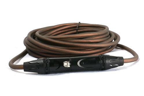 SuperFlex GOLD SFM-5 Smoke Colored Premium 5' Microphone Cable