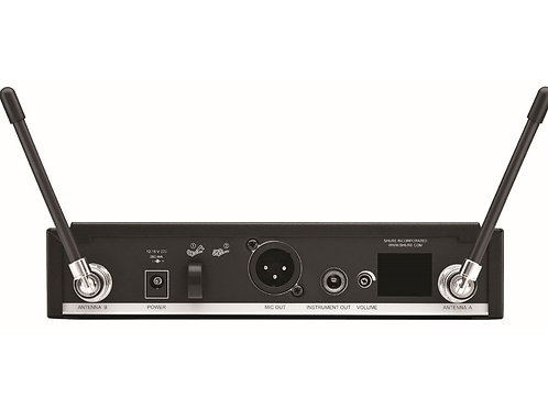 Shure BLX14R/B98-H9 Rackmountable Wireless Clip-On Horn Mic System