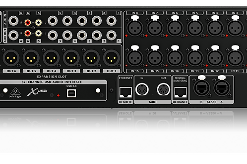 Behringer X32 RACK 40-Input 25-Bus iPad Controlled Mixing Console