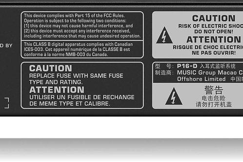 Behringer P16-D 16-Channel Digital ULTRANET Distributor