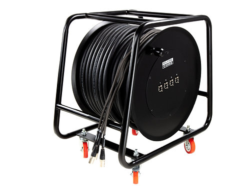 Elite Core TR-CABLE-REEL Heavy-Duty Cable Drum with Casters