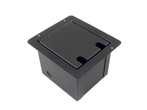 Elite Core FB8-6XF2XM Recessed Floor Box loaded with 6 XLRF + 2 XLR Male