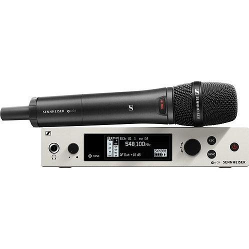 Sennheiser EW300G4-865-S-AW+ Wireless Handheld Vocal Mic System w/e865 Capsule
