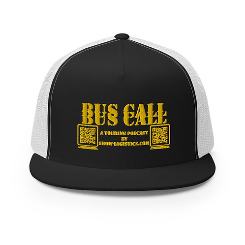 Bus Call Trucker Cap