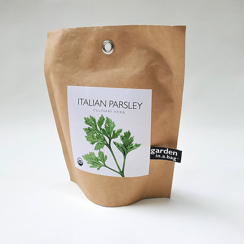 Garden in a Bag // Italian Parsley