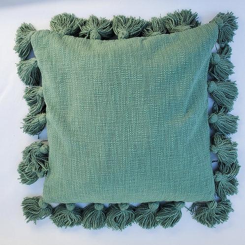 Cotton Tassel Pillow